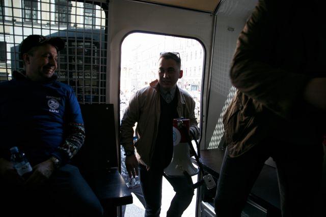 Первое мая в Петербурге, задержания 13