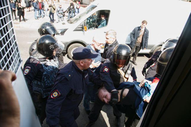 Первое мая в Петербурге, задержания 12