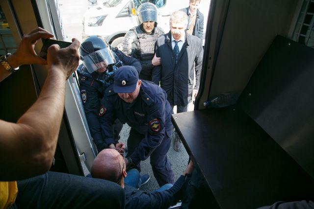 Первое мая в Петербурге, задержания 2
