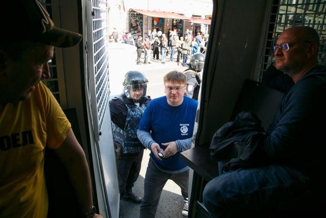 Первое мая в Петербурге, задержания 8
