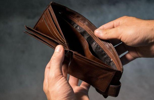 Упетербургского бизнесмена похитили вресторане 220 тысяч рублей