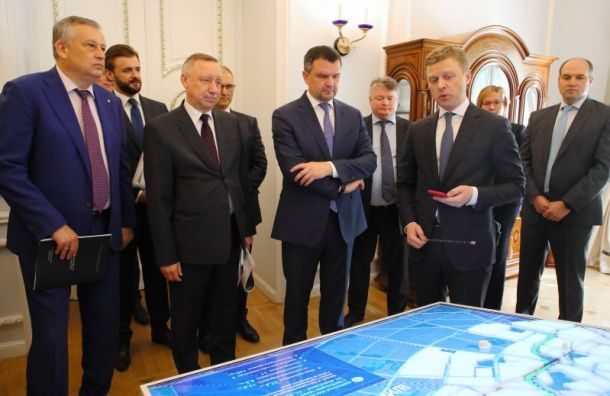 Наразвитие дорог вПетербурге изцентра выделят 45,2 млрд рублей