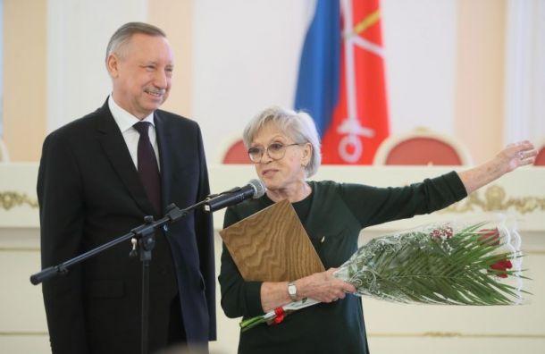 НаАллее звезд вПетербурге появятся имена Алисы Фрейндлих иОлега Басилашвили