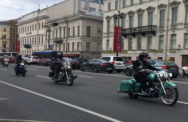 Беглов: Петербург— столица байкеров