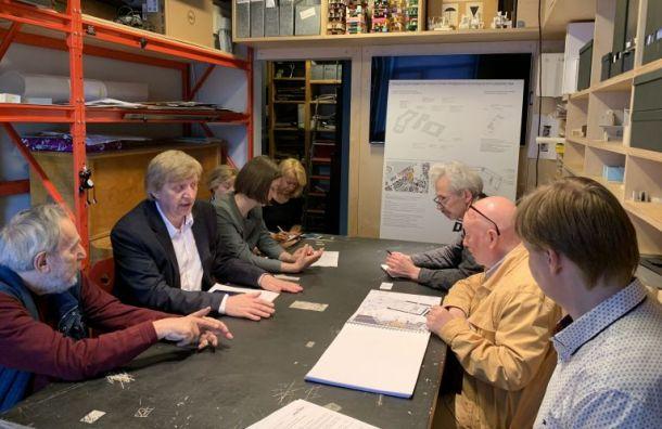 Градозащитники обсудили судьбу Конюшенного ведомства