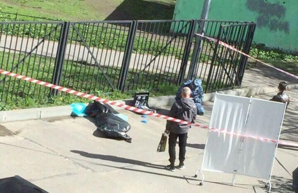 Женщина умерла натерритории школы напроспекте Стачек