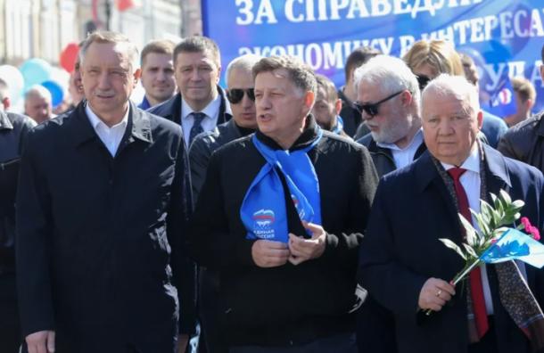 Беглов будет участвовать вгубернаторских выборах