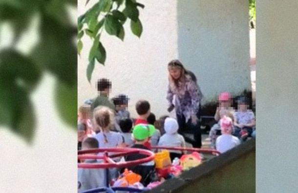 Заведущая детсадом вКраснодаре заставила ребенка целовать землю