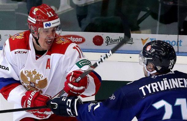 Россия сОвечкиным иМалкиным проиграла финнам