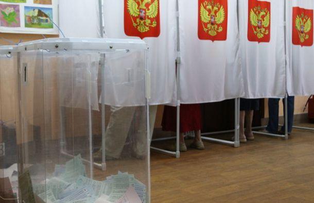 Выборы губернатора Петербурга пройдут 8сентября