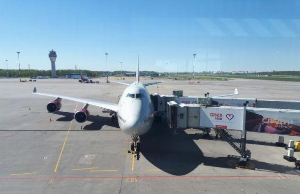 Эвакуировали пассажиров рейса Петербург— Анталья