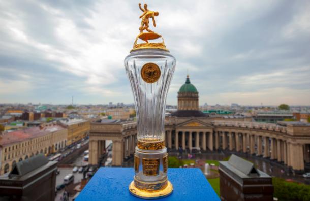 Кубок чемпионов России привезли вПетербург