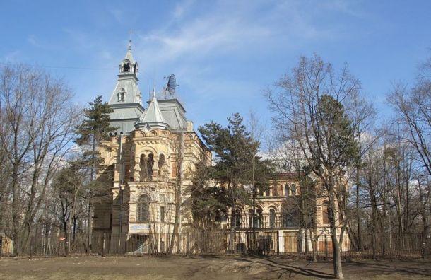 Усадьбу Чернова восстановят к2020 году