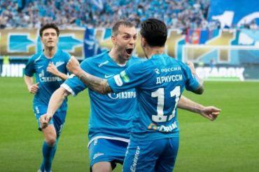 «Зенит» победил ЦСКА сосчетом 3:1