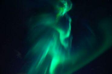 Петербуржцы смогут увидеть полярное сияние сегодня ночью
