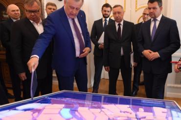 Ленобласть выделит под станцию метро «Кудрово» 100 гектаров земли