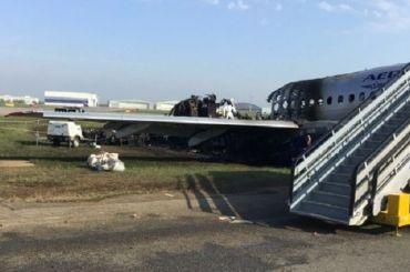 Сгоревший вШереметьеве Superjet был перегружен на1,6 тонны