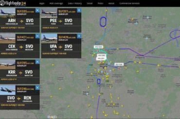 Пять самолетов Superjet немогут спервого раза сесть вШереметьево