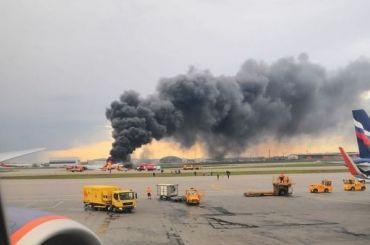 ВШереметьеве назвали причину аварийной посадки SSJ-100