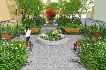 Архитекторы показали проект благоустровства дворика Бакста