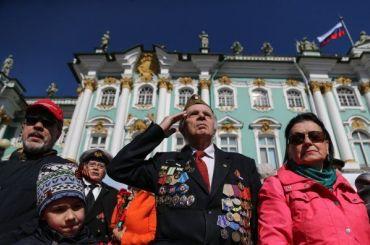 Парад Победы начался вПетербурге