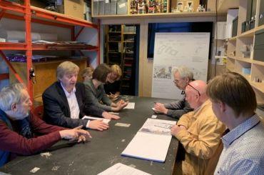 Градозащитники обсудили проект реконструкции Конюшенного ведомства