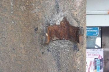 Малые козырьки исчезли сфасада дома Бака при реставрации