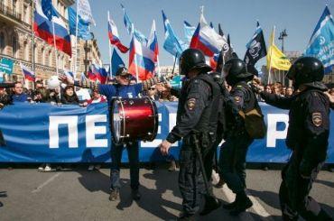 Провокация полиции на«активные действия»