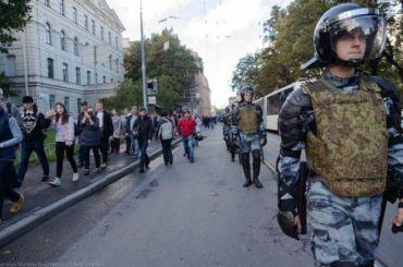 Навальнисты: Силовиков опрашивают оготовности стрелять помитингующим