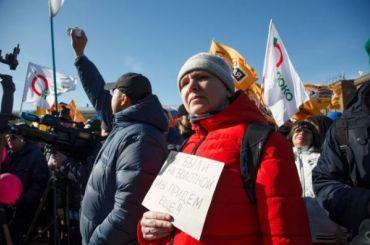 Социологи: россияне готовы выходить намитинги ипротестовать