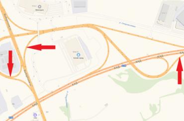 Съезды сВыборгского шоссе наКАД перекроют надвое суток