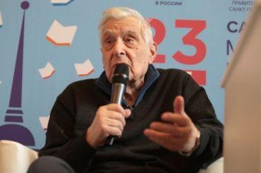 Олег Басилашвили представил свою новую книгу вПетербурге