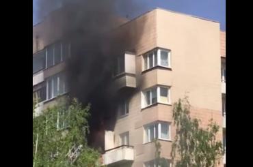 Трех человек спасли иззагоревшейся квартиры наКораблестроителей