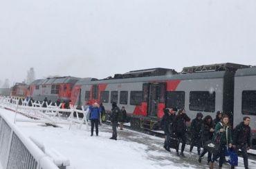 «Ласточка» сбила грузовик напереезде вКарелии