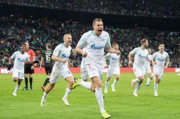 «Зенит» стал пятикратным чемпионом России