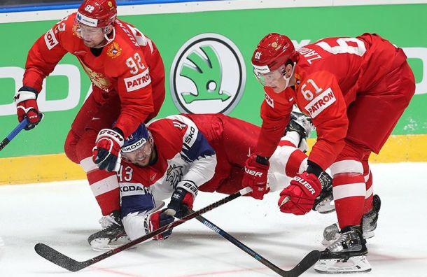 Сборная России завоевала бронзу начемпионате мира похоккею