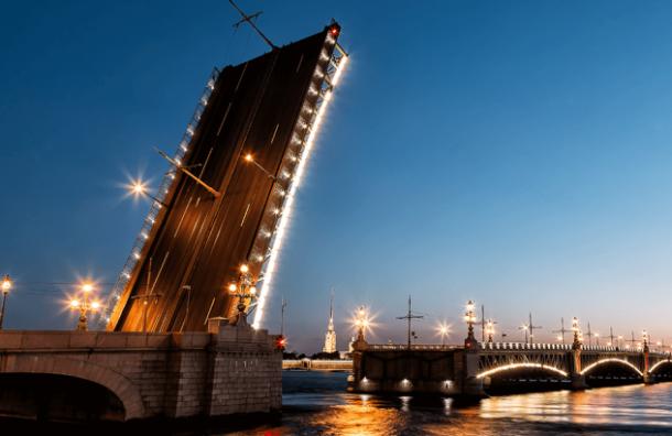 Троицкий мост будет разведен всю ночь