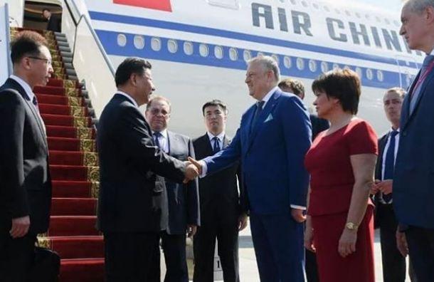 Путин отправил Дрозденко встречать Си Цзиньпина