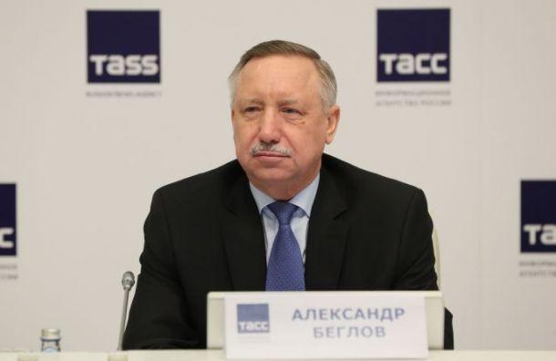 Беглов подал документы для участия ввыборах губернатора Петербурга
