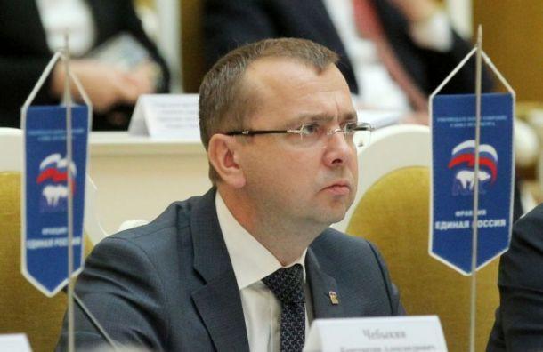 Спикер ЗакСа объявил опрекращении полномочий умершего депутата
