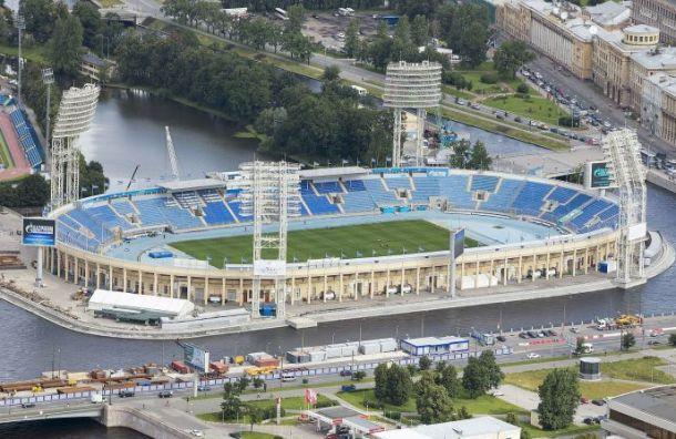 Команды ЧЕ-2020 будут тренироваться начетырех стадионах вПетербурге