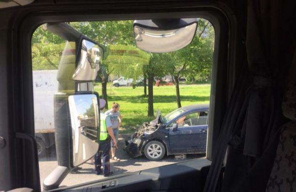 Пешеход пострадал вДТП сфурой наВитебском