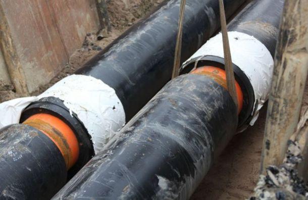 «Газпром» поможет Петербургу реконструировать теплосети