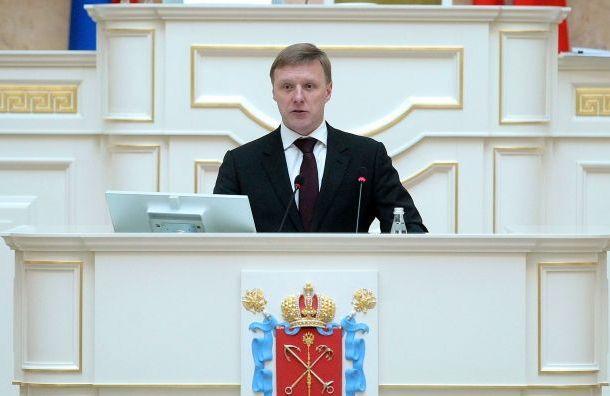 Олег Капитанов сложил ссебя полномочия депутата ЗакСа