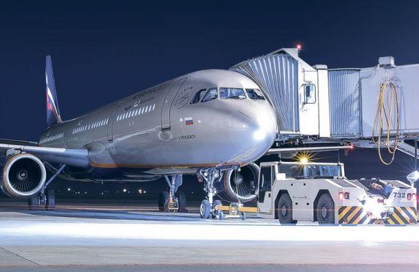 Самолет «Аэрофлота» 20 минут кружил над Пулково из-за грозовых туч