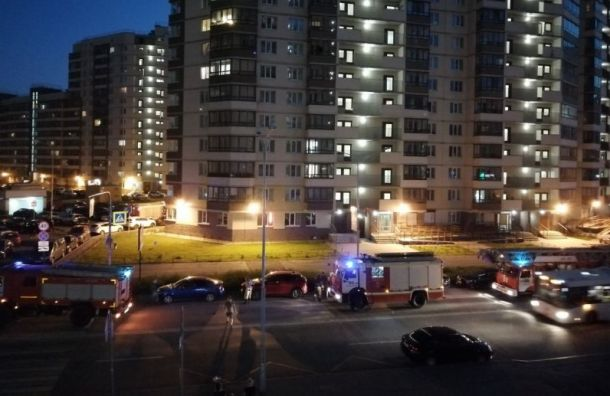 Пожарные немогли проехать кгорящему дому вИтальянском переулке