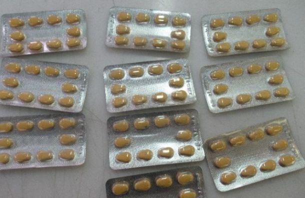Более 5 тысяч таблеток индийской «Виагры» задержали вПулкове
