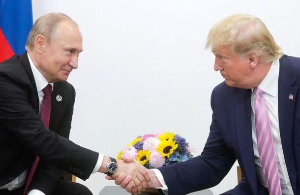 Трамп оПутине: «Онпрекрасный парень»