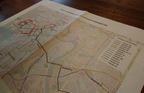 Публичных слушаний поотмене маршруток вПетербурге небудет