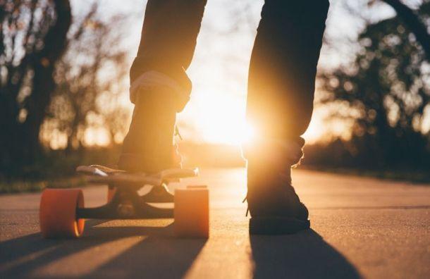 Петербург признали лучшим городом России для скейтбордистов